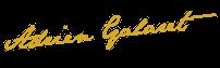 signature Adrien Galaret